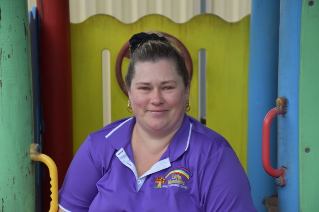 Kim - child care Mooloolah Little Munchkins Early Learning Centre